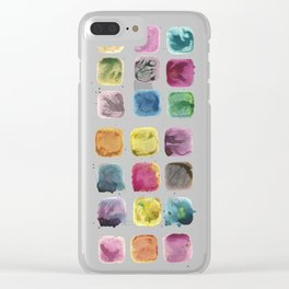 Colors in Suspension02 Clear iPhone Case