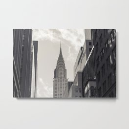 The Chrystler Building Metal Print