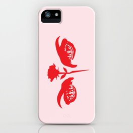 Love Hurts (pink) iPhone Case
