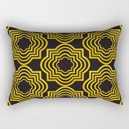 A Cafe In Granada Art Deco Pattern Rectangular Pillow
