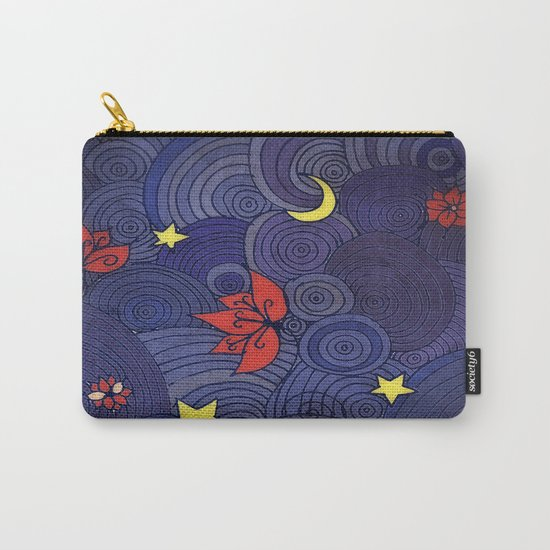 Lotus Sky Carry-All Pouch