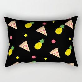 Pizza Pineapple Party Rectangular Pillow