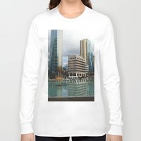 vancouver Long Sleeve T-shirts featuring Vancouver by Chris Root