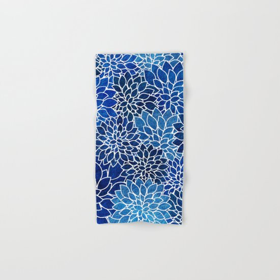 Floral Abstract 14 Hand & Bath Towel