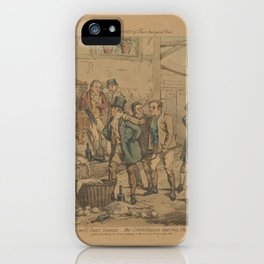 One Day's Sport of Three Real Good Ones Numbers will beat Science...The Corinthians bear the brunt,1 iPhone Case