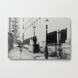 in the streets of Cambridge ... Metal Print