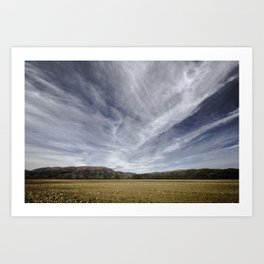 the road to queenstown, south island, new zealand Art Print