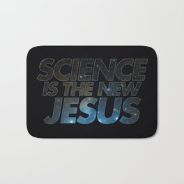 Science is the New Jesus Bath Mat