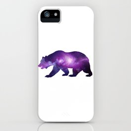 Space Bear iPhone Case
