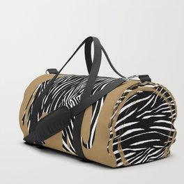 Zebra Elephant Safari Duffle Bag