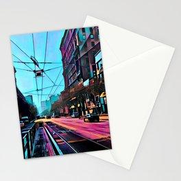 Market Street, San Francisco Stationery Cards