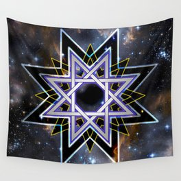 Star Of Regeneration Wall Tapestry
