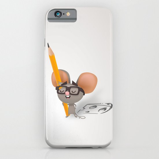 Drawing mouse iPhone & iPod Case