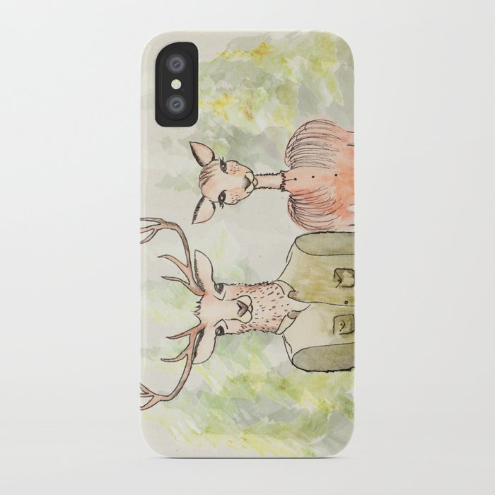 Together in Happy Land iPhone Case