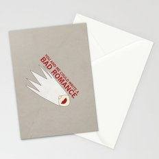 You and Me Could Write a Bad Romance Stationery Cards