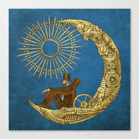 Moon Travel (Colour Option) Canvas Print