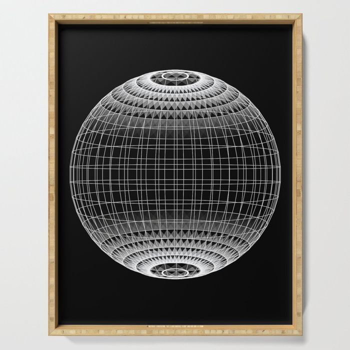 Wire Planet Serving Tray