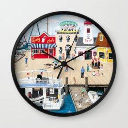 Quartet at the Quay Wall Clock