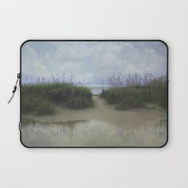 Morning at Tybee Laptop Sleeve