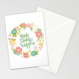 Make Things Happen   Mimi Bondi Stationery Cards