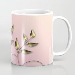 Gold flower Coffee Mug