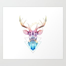 Spirit of the Stag Art Print