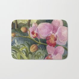 Orchid Beauty Bath Mat