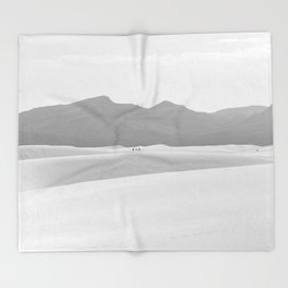 White Sands Throw Blanket