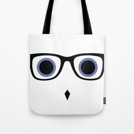 Hipster Owl No.8 Tote Bag