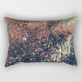 The Trees - The Enchanted Forest in Fall Rectangular Pillow