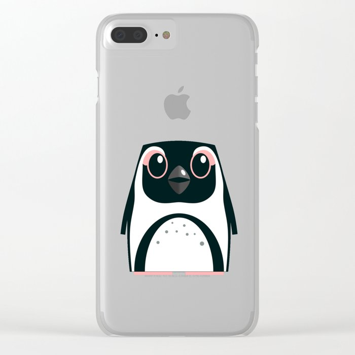 African Penguin - 50% of profits to charity Clear iPhone Case