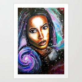 Naissance d'une star Art Print