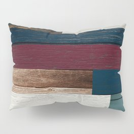 All of the Wood Planks Pillow Sham