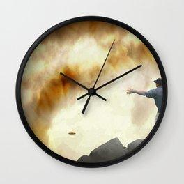 Volcano Disc Golf Wall Clock