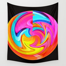 Psychedelic Moonshine Wall Tapestry