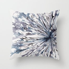 Agapantha Throw Pillow