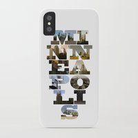 minneapolis iPhone & iPod Cases featuring Minneapolis Collage by Jeremy Jon Myers