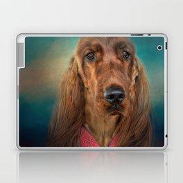 After A Swim - Irish Setter Laptop & iPad Skin