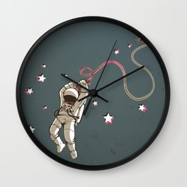 Hangstronaut Wall Clock