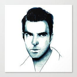 Zachary Quinto Canvas Print