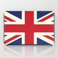 uk iPad Cases featuring UK by Lucy Jacquard