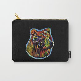 Kaleidoscope Bear  Carry-All Pouch