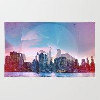 manhattan Area & Throw Rugs featuring Manhattan by Esco