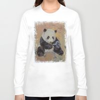 cigarette Long Sleeve T-shirts featuring Cigarette Break by Michael Creese