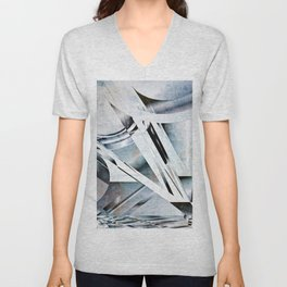 Windows and Masts Unisex V-Neck