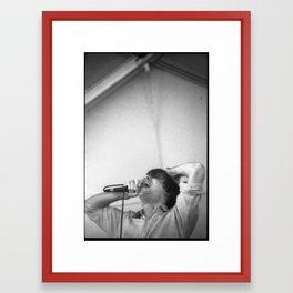 John Maus (35mm, FYF Festival, 2012) Framed Art Print