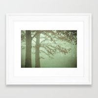 illusion Framed Art Prints featuring Illusion by Olivia Joy StClaire