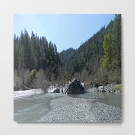 Gorgeous day in the mountains... Metal Print