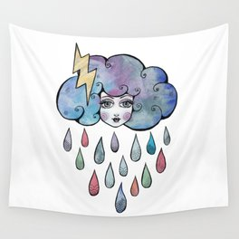 Today I am a Storm Cloud Wall Tapestry