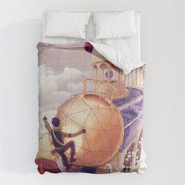 Shoulders of Giants Comforters